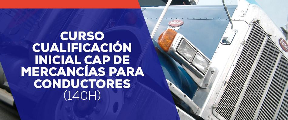 Curso CUALIFICACIÓN INICIAL CAP de mercancías para conductores (140h)